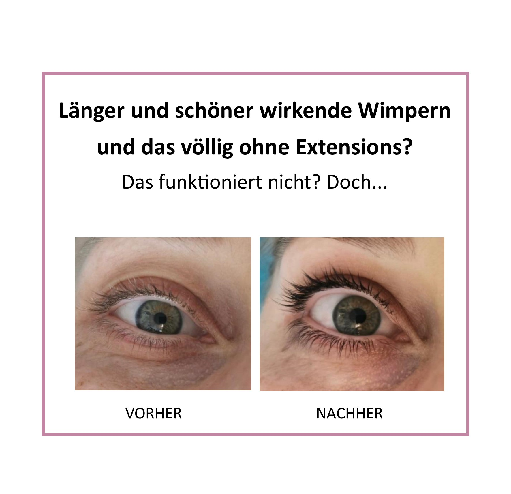 WIMPERN - LIFTING